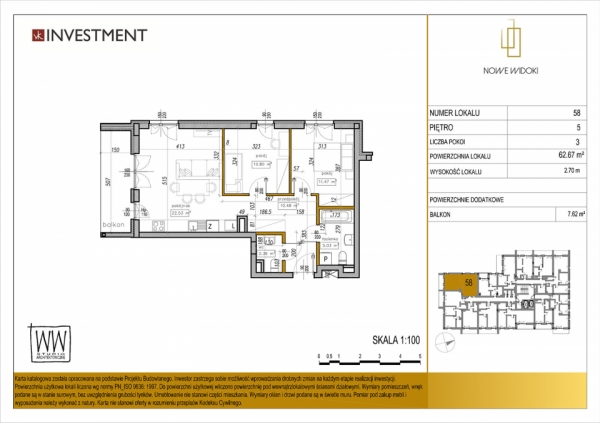 Mieszkanie 58