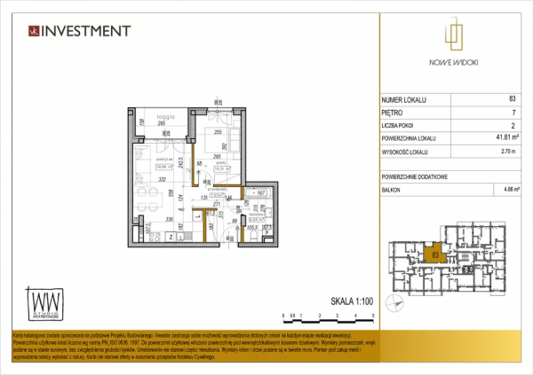 Mieszkanie 83